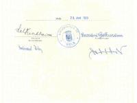 1978/79 Berufsschule Wels B1c Zeugnis Seite 2