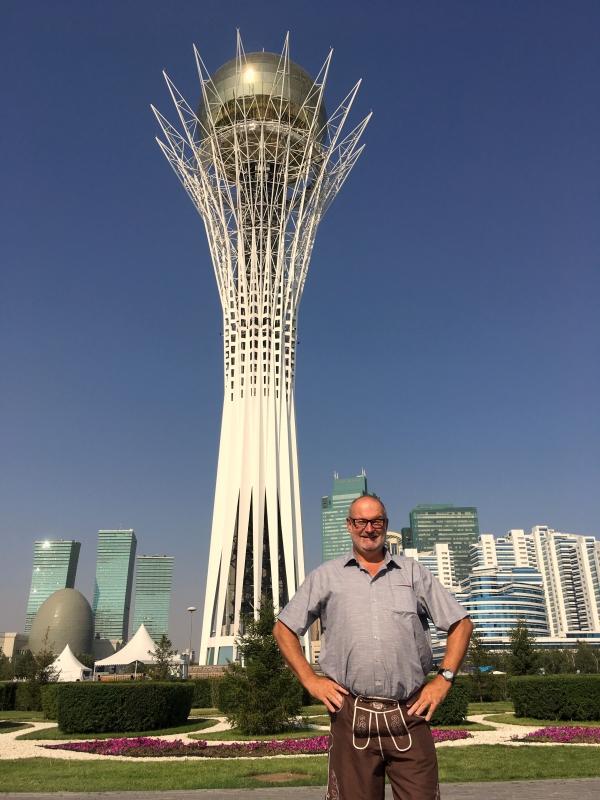 Kasachstan Astana Baiterek Turm 2017 08 26