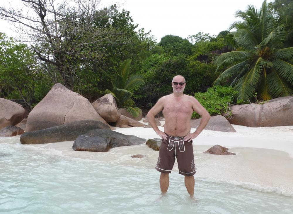 Seychellen 30 10 2016 Insel Praslin Anse Lazio
