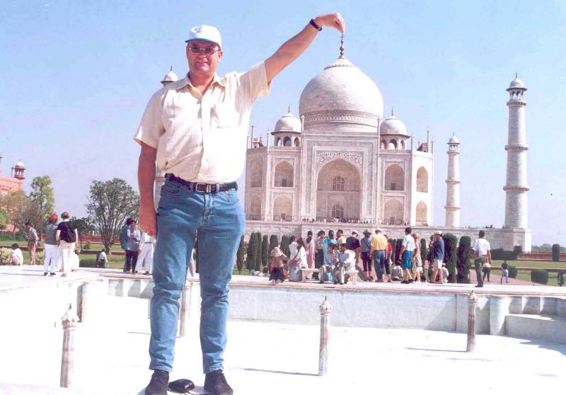 Indien 21 04 2001 Agra Taj Mahal