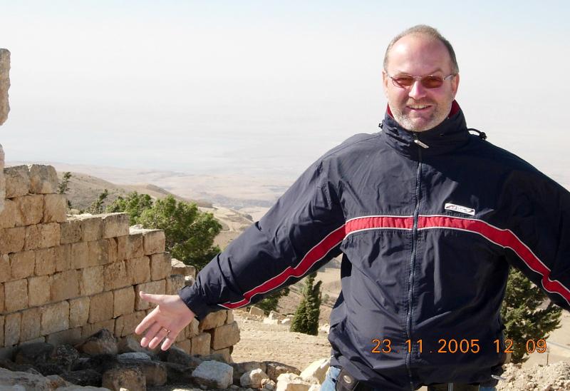 Jordanien 23 11 2005 Berg Nebo