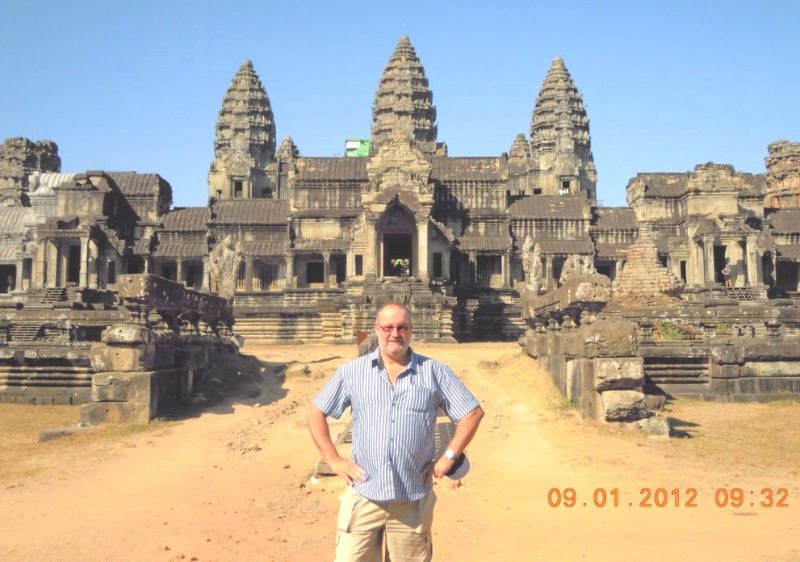 Kambodscha 09 01 2012 Angkor Wat