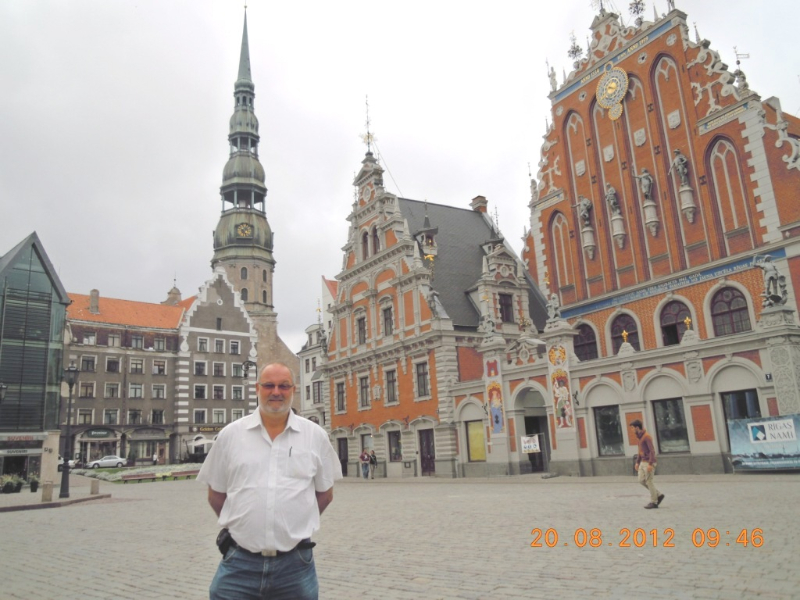 Lettland 20 08 2012 Riga