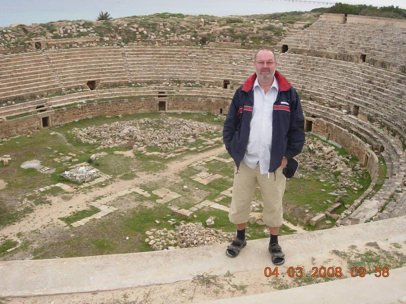 Libyen 04 03 2008 Leptis Magna