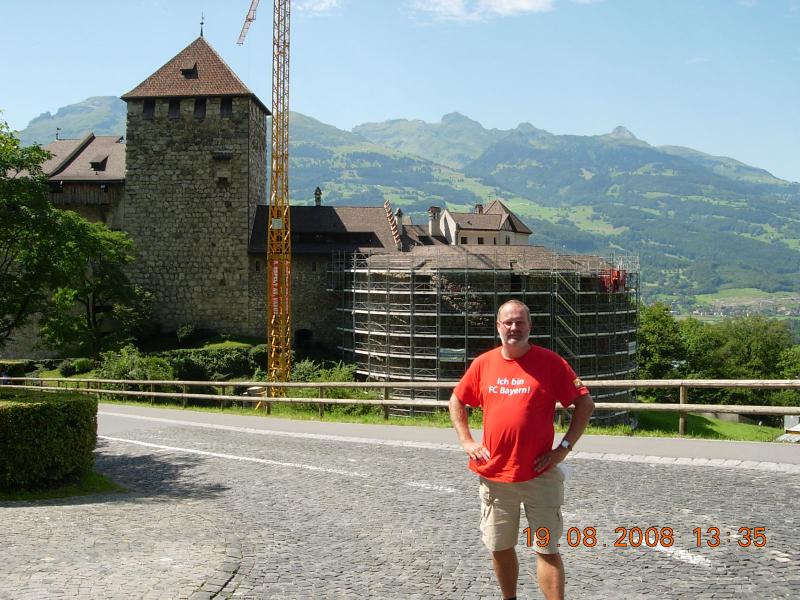 Liechtenstein 19 08 2008 Vaduz