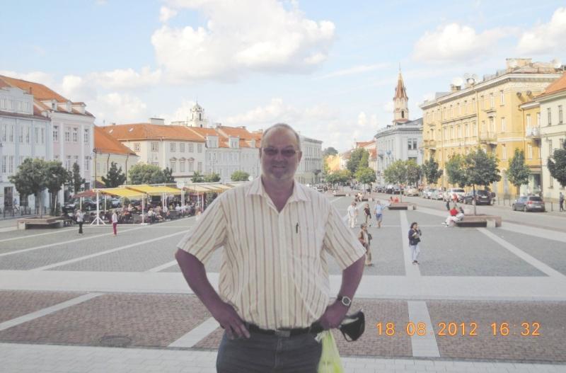 Litauen 18 08 2012 Vilnius