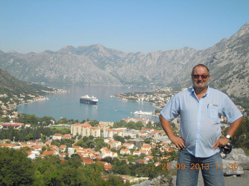 Montenegro 25 09 2013 Bucht von Kotor