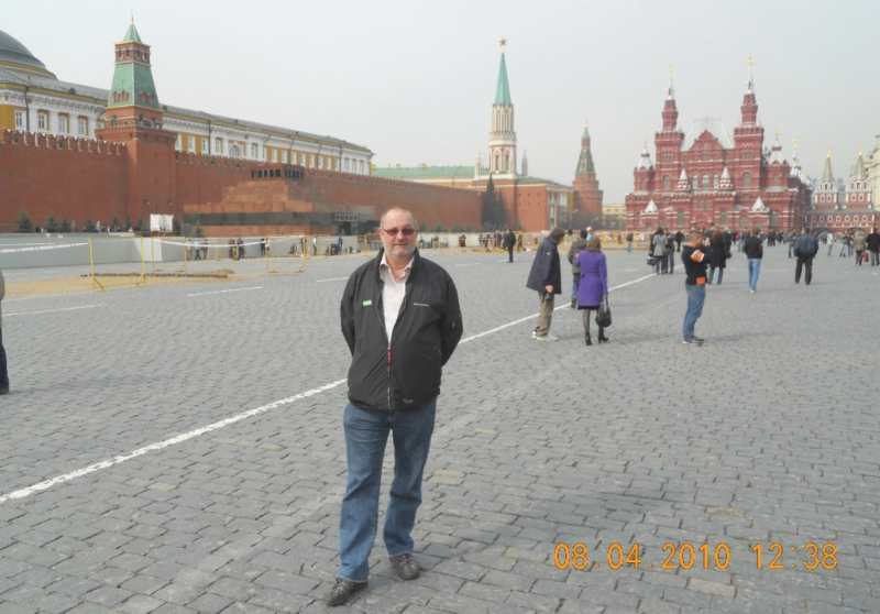 Russland 08 04 2010 Moskau
