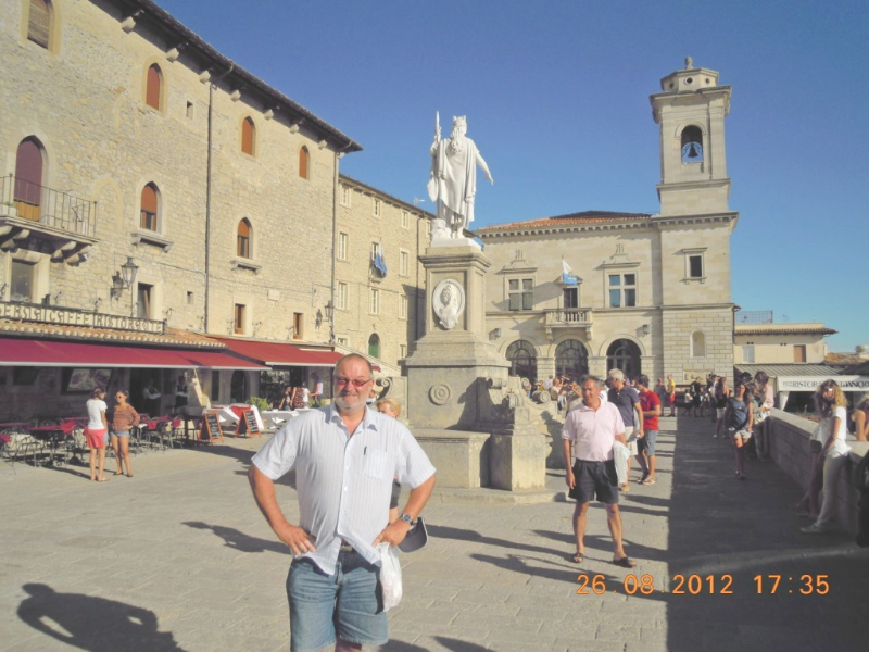 San Marino 26 08 2012 San Marino