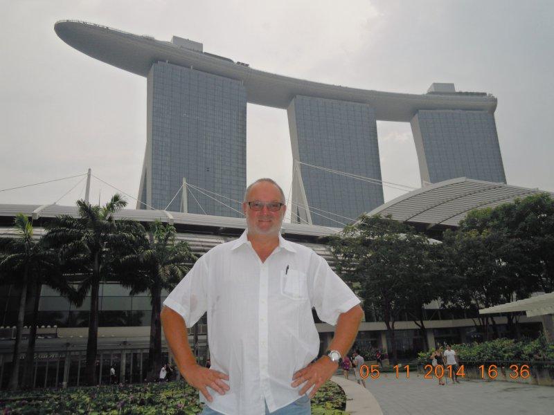 Singapur 05 11 2014 Singapur Marina Bay Sands
