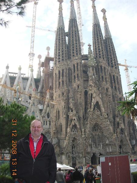 Spanien 31 12 2008 Barcelona
