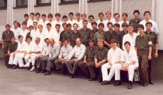 1982 August Stellungsstrassen Team