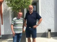 2018 05 07 Bundesheerkollege Gerhard Wimmesberger Amtsleiter Frankenmarkt vor Frucht und Sinne in Frankenmarkt