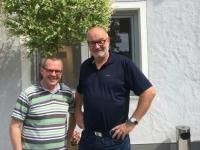 2018 05 07 Bundesheerkollege Gerhard Wimmesberger Wiedersehen nach 37 Jahren