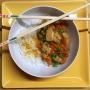 2020 02 05 Hühnerbrüste mit Gemüse und Reis