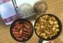 2020 04 21 AE Cevapcici mit Bratkartoffel und Bohnensalat