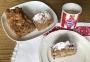 2020 05 12 Rharbarber Erdbeer Nusskuchen und Kaffee