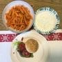 2020 05 16 AE Burger mit Süsskartoffelpommes und Knoblauch Kräuterdip