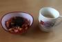 2020 05 24 Kaffee und frischer Obstsalat