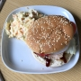 2020 06 24 AE Pulled Chicken Burger mit Cole Slaw