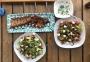 2020 07 21 AE Ripperl mit Salat und Kräuterdip