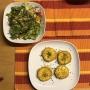 2020 08 13 AE Zucchini Cordon Bleu mit gemischen Salat