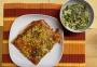 2020 12 03 Pizza mit grünem Salat