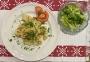 2021 01 18 Eiernockerl mit grünem Salat