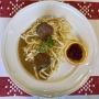 2021 02 07 Rindsrouladen mit Butterspätzle und Bohnensalat