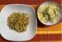 2021 02 09 Gemüsereis mit Linsen und Zuckerhutsalat