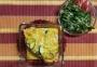 2021 02 20 Überbackener Ofenkartoffel mit Vogerlsalat