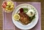 2021 04 04 Hühnerschnitzel mit Erbsenreis und Erdäpfelsalat