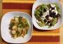 2021 04 15 Linsennudeln mit Spargel und mediterranen Salat