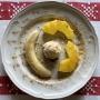2021 04 19 Honigbanane mit gegriller Ananas und Eis