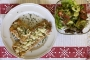 2021 05 02 Crepes Bolognese mit Blattsalaten