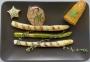 2021 05 09 Gegrillter Spargel mit Mais sowie Knoblauch und Kräuterbutter