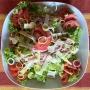 2021 07 26 Salatplatte mit Schinken und Käse