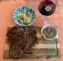2021 07 31 T_Bone Steak mit Eierschwammerlsauce und Brokkoli Kartoffelgratin