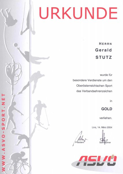 2004 03 14 ASVOÖ Ehrenzeichen Gold