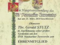 2010 03 25 Ehrenmitglied des ÖTB Neumarkter Turnvereines