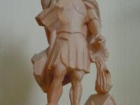 2014 03 21 Geschnitzter Hl. Florian von der Marktgemeinde Neumarkt/H. für 20 Jahre Obmannschaft