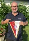 2020 06 29 Silberne Ehrennadel und Wimpel für 20 Jahre Mitgliedschaft FC Bayern München