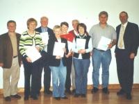 2006 03 31 Silbernes Ehrenzeichen des ÖTB für 25 Jahre Mitgliedschaft Überreichung bei der JHV