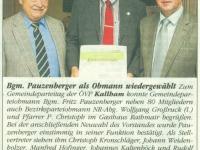 2012 03 20 Goldenes Ehrenzeichen der ÖVP OÖ - Schreiben
