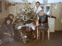1983 12 24 Heiliger Abend Würzberg mit Resl