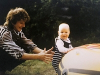 1984 09 02 Karin im Jugendlager ÖTB NTV St Pankraz