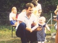1984 09 Jugendlager St Pankraz mit Karin