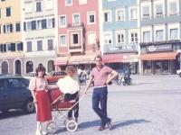 1984 Ausflug nach Schärding mit Karin