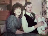 1984 03 11 Taufe Tochter Karin Wurmsiedlung