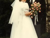 1986 05 10 Hochzeitsfoto Wohnzimmer